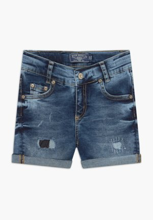 GIRLS HEAVY - Denim shorts - blue denim