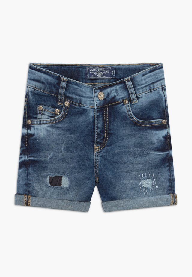 GIRLS HEAVY - Shorts di jeans - blue denim