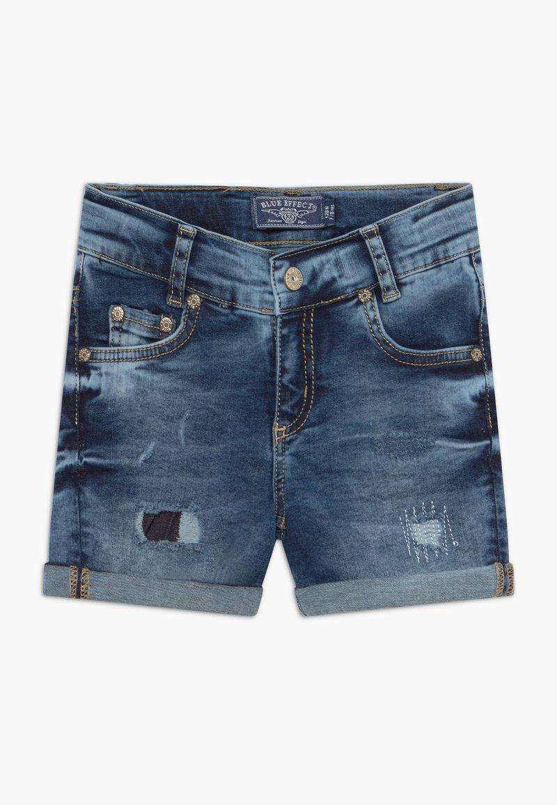 Blue Effect - GIRLS HEAVY - Denim shorts - blue denim