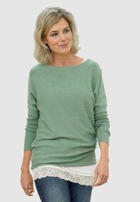 Dress In - Jumper - salbeigrün - 0