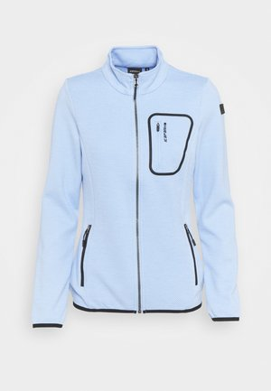 VALENCIEN - Fleece jacket - light blue