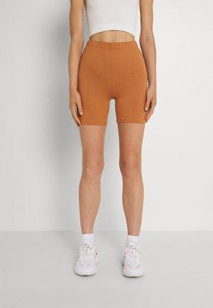 VIBE BIKER - Shorts - pecan brown