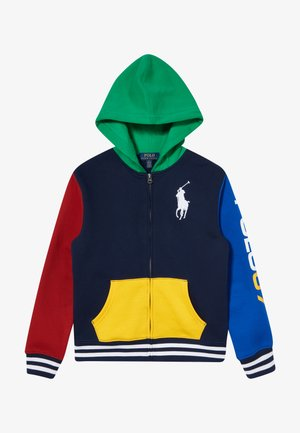 Zip-up hoodie - multicolor