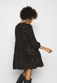 GAP - MINI TRAPEZE - Day dress - black - 2
