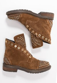 Alma en Pena - Lace-up ankle boots - camel - 3