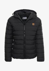 BASIC BUBBLE JACKET - Zimní bunda - black
