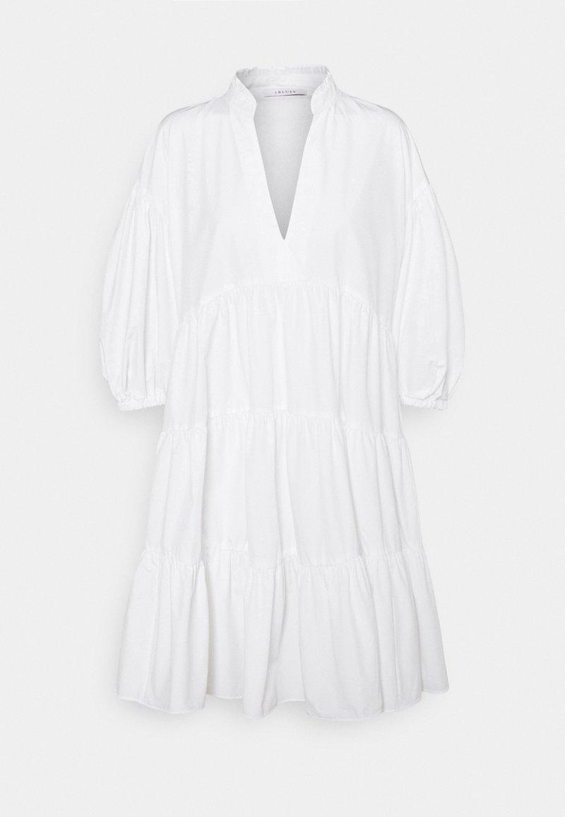iBlues - LORETTA - Denní šaty - bianco