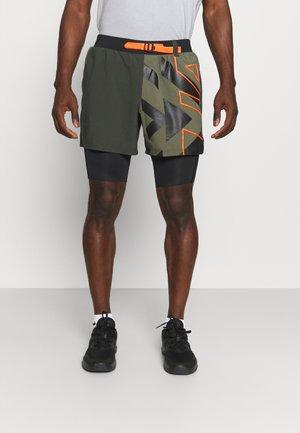 RUN ANYWHERE SHORT - Sports shorts - khaki