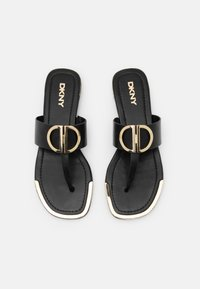 DKNY - HALCOTT - T-bar sandals - black - 4