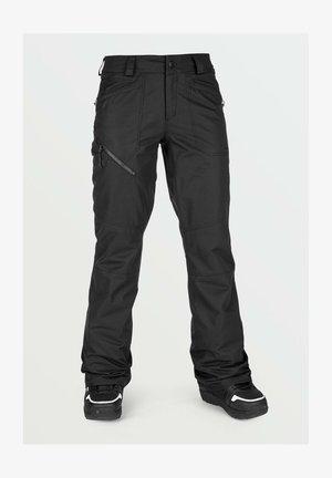 HALLEN - Snow pants - black