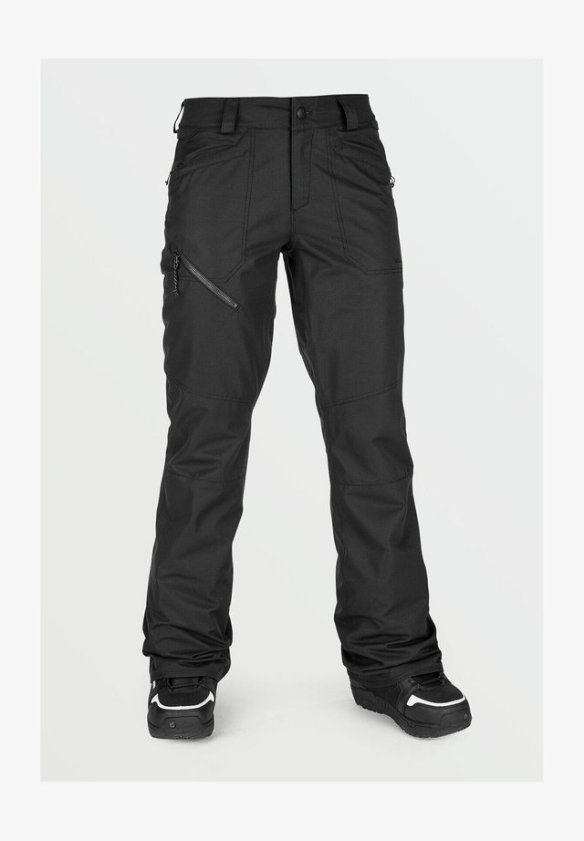 HALLEN PANT - Pantaloni da neve - black