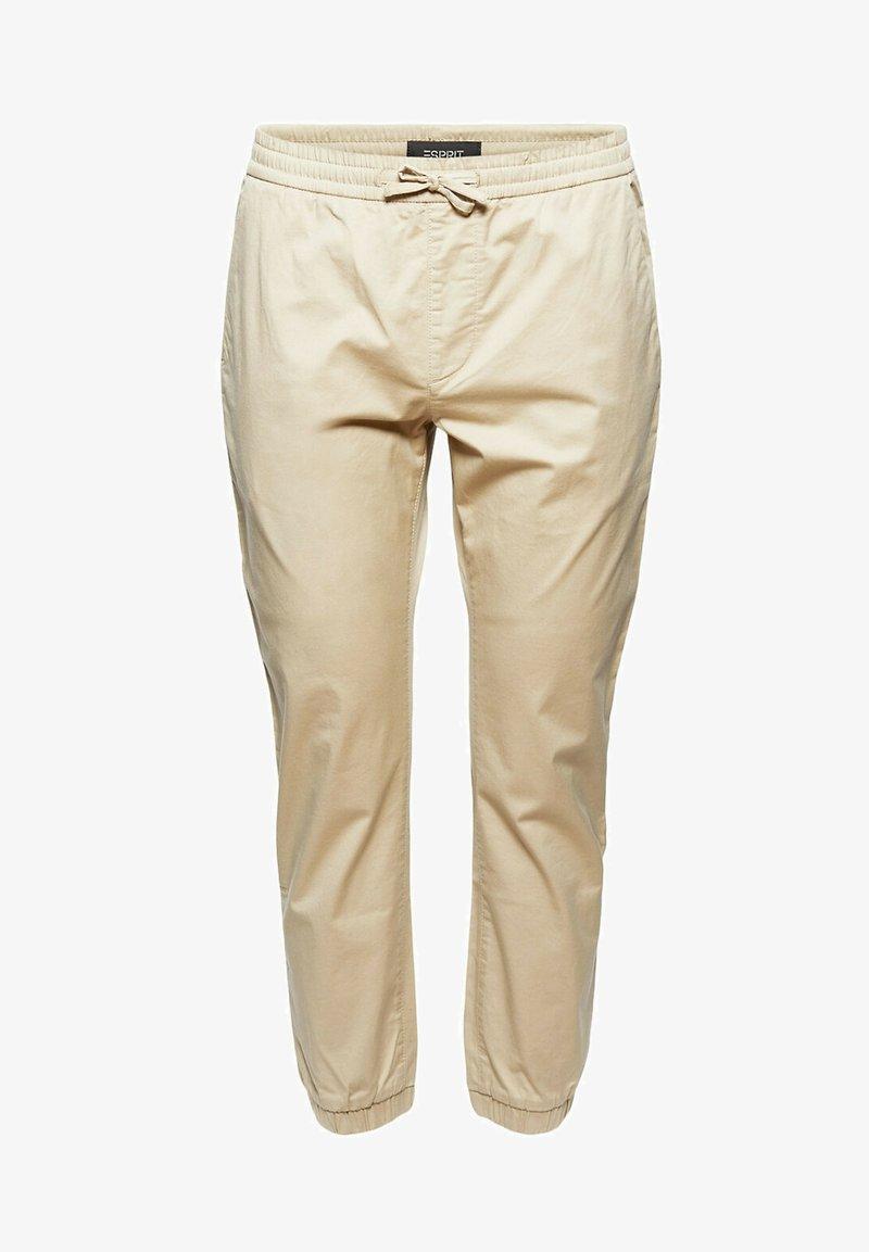 Esprit Collection - FASHION - Tracksuit bottoms - beige