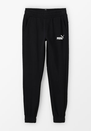 LOGO PANTS - Tracksuit bottoms - black