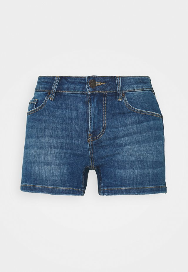 VMLYDIA TAP - Shorts di jeans - medium blue denim