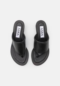 ASRA - JAMMIE - T-bar sandals - black - 4
