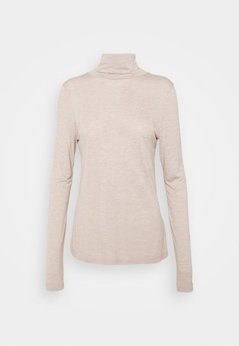 HIGHNECK - Long sleeved top - natural