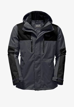 JASPER FLEX MEN - Outdoorjas - dunkelgrau