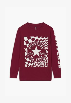 CHUCK PATCH GRAPHIC TEE UNISEX - Longsleeve - team red