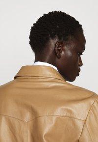 Rika - PARIS JACKET - Leather jacket - light brown - 5