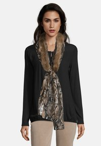 Betty Barclay - MIT PRINT - Scarf - camel/black - 1