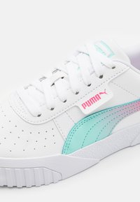 Puma - CALI SPACE JR UNISEX  - Trainers - white/aruba blue - 5