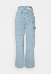 The Ragged Priest - STRAIGHT LEG COMBAT - Straight leg jeans - blue - 1