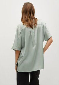 Mango - MARITA - Button-down blouse - vert d´eau - 0