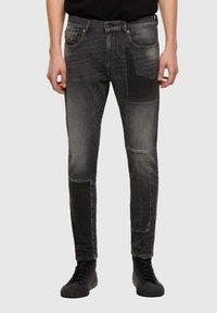 Diesel - Slim fit jeans - black/dark grey - 0