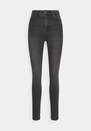 CLARA - Jeansy Skinny Fit - black