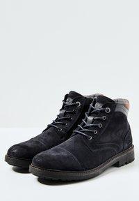 Pepe Jeans - PORTER  - Šněrovací kotníkové boty - azul marino - 2