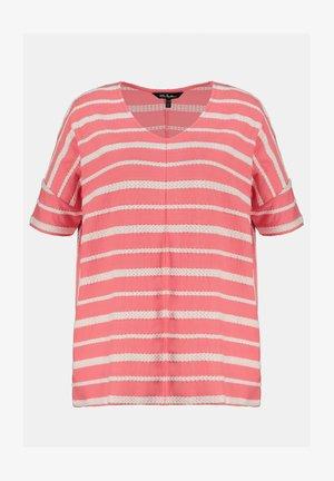 Print T-shirt - vieux rose pâle