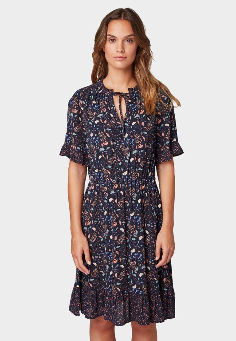 TOM TAILOR - Day dress - dark blue