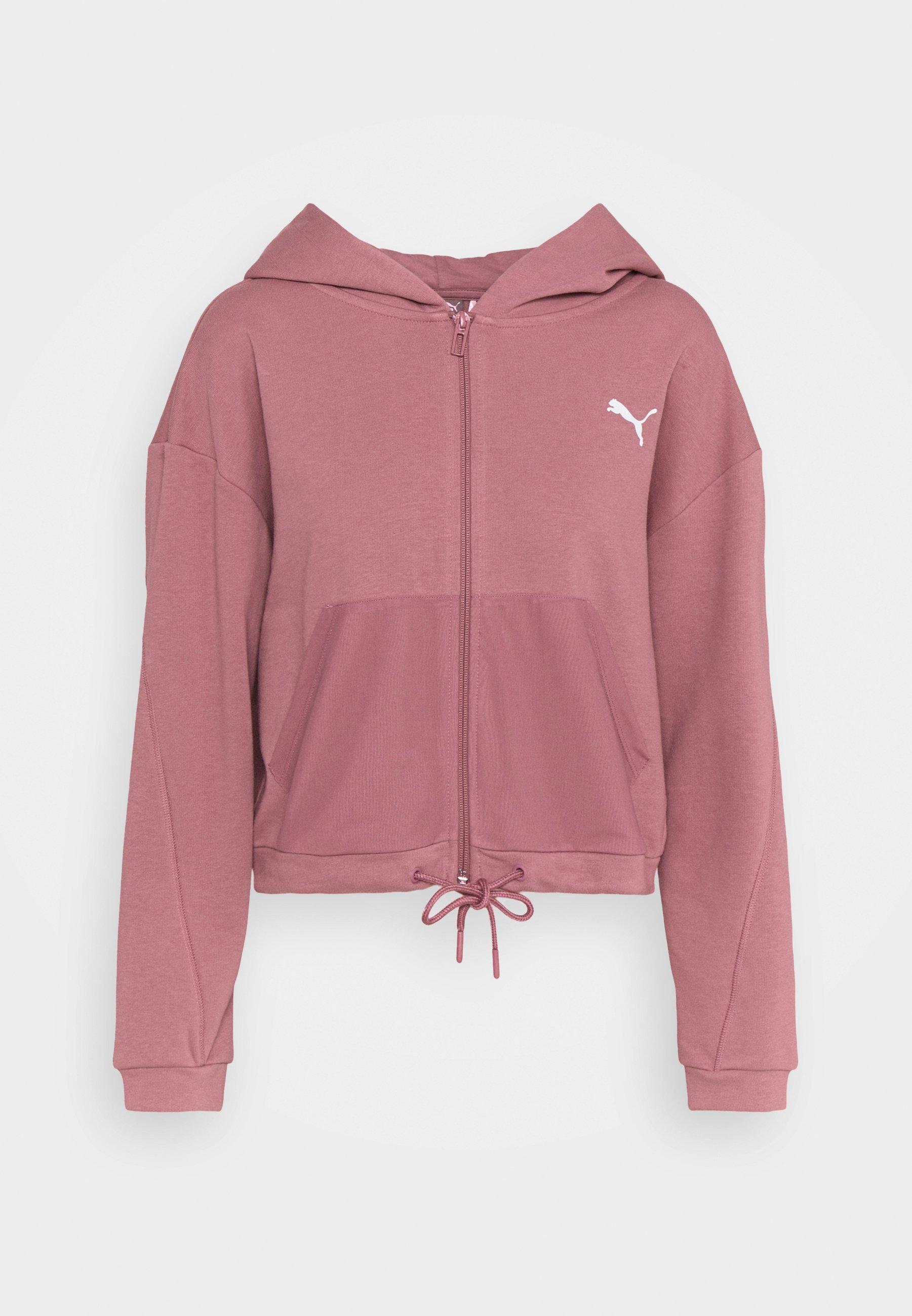 Women PAMELA REIF X PUMA COLLECTION FULL ZIP HOODIE - Zip-up sweatshirt