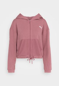 Puma - PAMELA REIF X PUMA COLLECTION FULL ZIP HOODIE - Sweatjacke - mesa rose - 5
