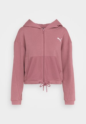 PAMELA REIF X PUMA COLLECTION FULL ZIP HOODIE - Bluza rozpinana - mesa rose
