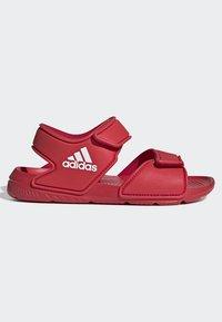 adidas Performance - ALTASWIM - Sandales de randonnée - red - 5