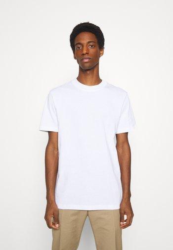 SLHRELAXCOLMAN O NECK TEE - Basic T-shirt - bright white