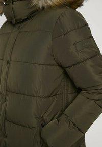 TOM TAILOR DENIM - Winter jacket - deep olive green - 4