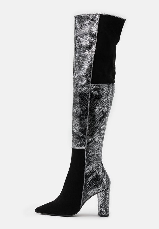CAMELIE  - High heeled boots - nero