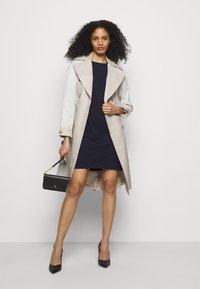 Lauren Ralph Lauren - LUXE TECH DRESS - Shift dress - lighthouse navy - 1