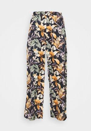 Trousers - multi-coloured/black