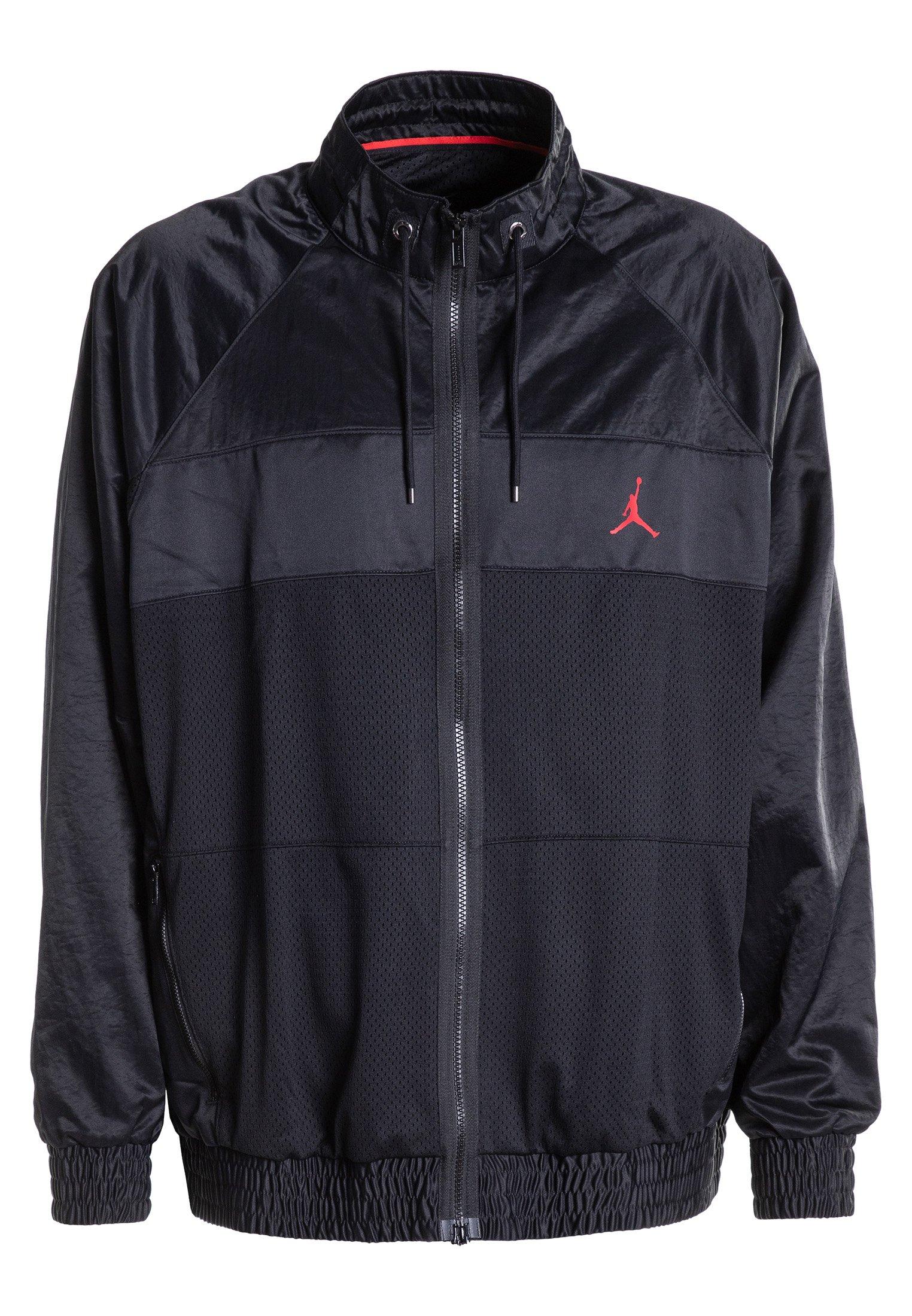 Jordan WINGS SUIT  - Veste de survêtement - black/gym red