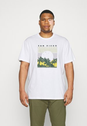 ONSANTHONY LIFE TEE - T-shirt con stampa - white