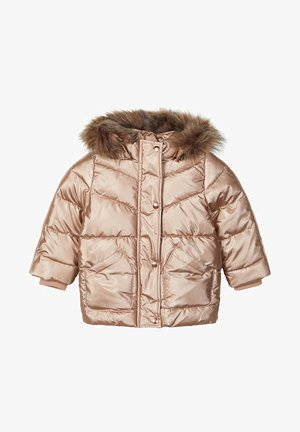 Winter jacket - gold colour