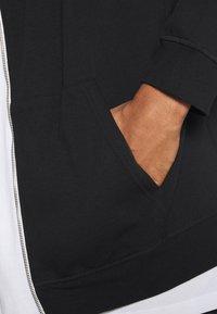 Pier One - Zip-up hoodie - black - 3