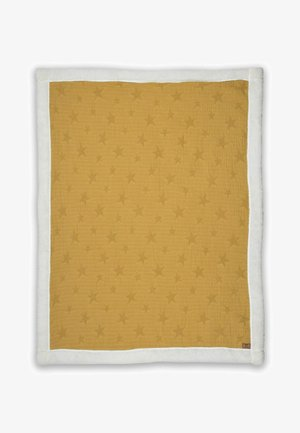 STAR  - Baby blanket - mustard yellow