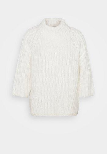 Jersey de punto - winter natural white