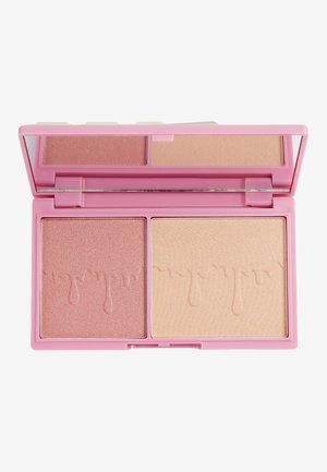 I HEART REVOLUTION ROSÉ FIZZ GLOW PALETTE - Eyeshadow palette - multi