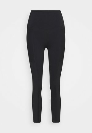 POCKET 7/8 - Tights - black