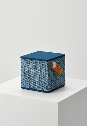 ROCKBOX CUBE FABRIQ EDITION BLUETOOTH SPEAKER - Speaker - indigo